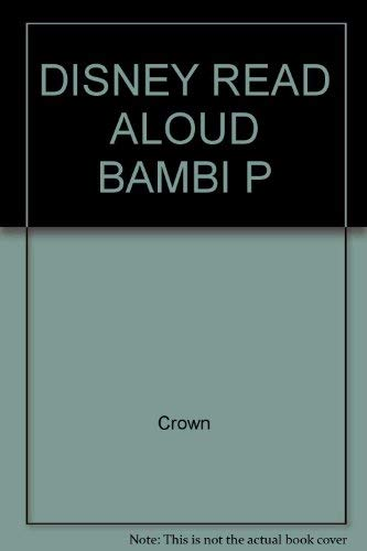 9780517544631: DISNEY READ ALOUD BAMBI P