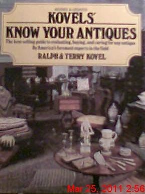 9780517545010: Kovels' Know Your Antiques