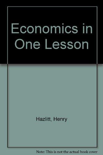 What is Hazlitt's position on money?