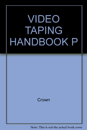 9780517549537: Title: Video Taping Handbook P