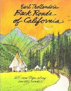 9780517549674: Earl Thollander's Back Roads of California