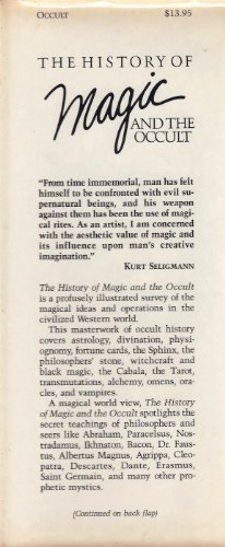 9780517550083: History of Magic and the Occult