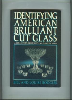 9780517550090: Identifying American Brilliant Cut Glass