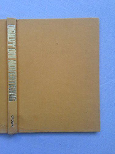 ogilvy on advertising 1st first edition