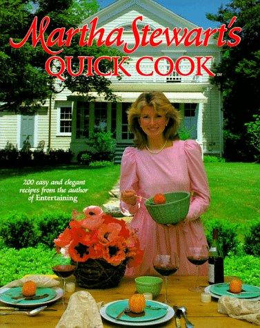 9780517550960: Martha Stewart's Quick Cook