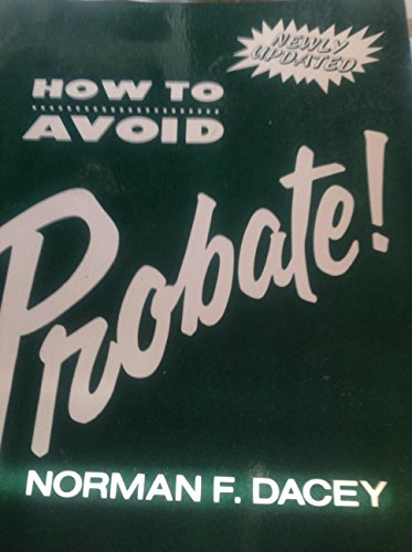 9780517551509: How to Avoid Probate