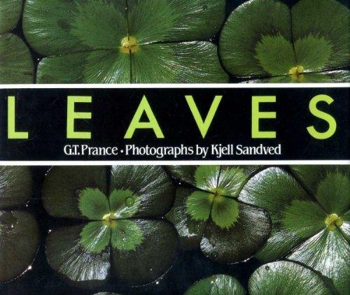 Leaves: Ghillean Tolmie Prance