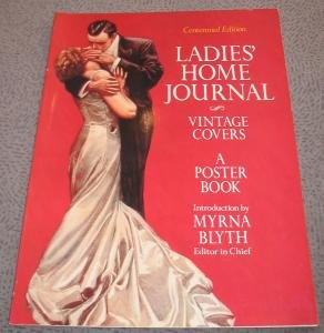 ladies' home journal. vintage covers. a poster: centennial edition