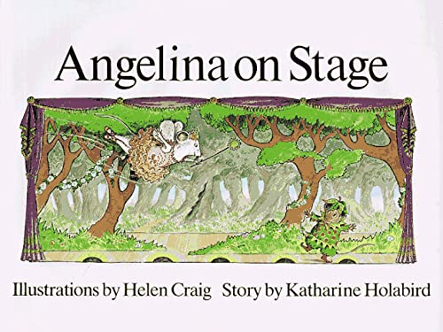 9780517560730: Angelina on Stage (Angelina Ballerina)