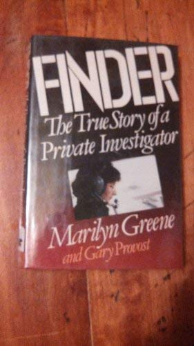9780517564905: Finder The True Story of a Private Investigator