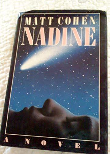 Nadine: Matt Cohen