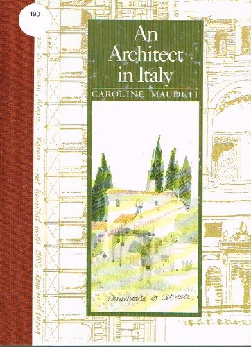 9780517569801: An Architect in Italy