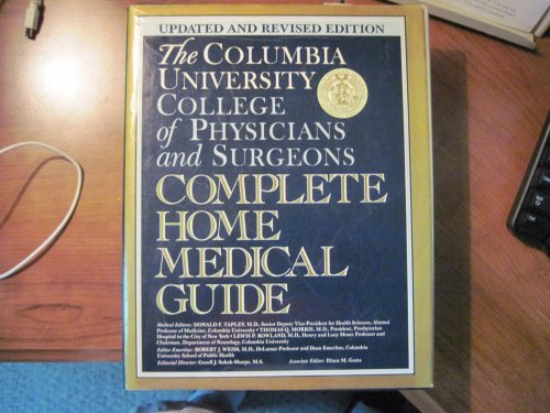 9780517572160: Columbia University Of Physicians And Surgeons Complete Home Medical Guide: Revised Edition
