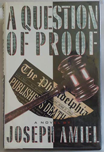 9780517575208: A Question of Proof