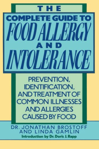 9780517577561: The Complete Guide to Food Allergy and Intolerance: Prevention, Identification, and Treatment of Common Illnesses and Allergies