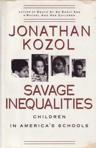 9780517582213: Savage Inequalities: Children in America's Schools