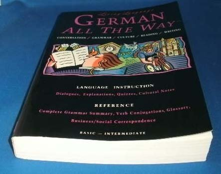 9780517583791: Living Language German All the Way Manual: Learn at Home or On The Go