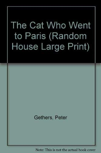 9780517586877: The Cat Who Went to Paris (Random House Large Print)