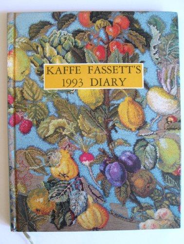 9780517589137: Kaffe Fassett Diary 1993 by Ebury Press