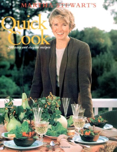 9780517589526: Martha Stewart's Quick Cook