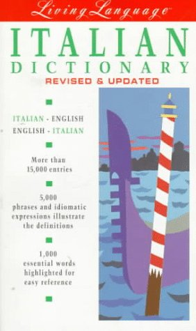 9780517590409: Living Language Italian Dictionary : Italian-English/English-Italian