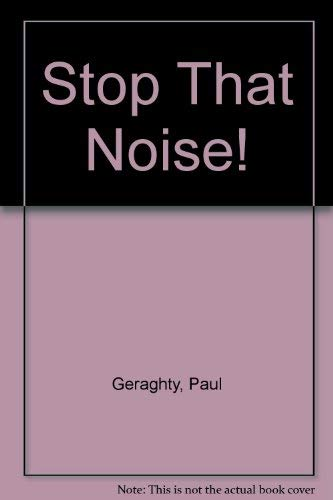 9780517591598: Stop That Noise