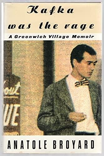 9780517596180: Kafka Was the Rage: A Greenwich Village Memoir