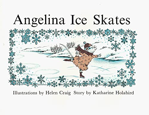 9780517596197: Angelina Ice Skates (Angelina Ballerina)