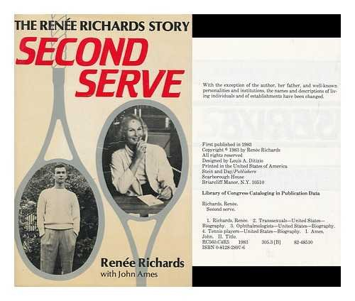 9780517605660: Second Serve: The Renee Richards Story