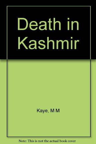 9780517610060: Death in Kashmir
