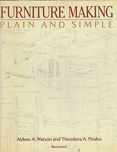 9780517615355: Furniture Making Plain and Simple