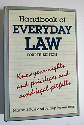 9780517615379: Handbook Of Everyday Law: 4th Edition