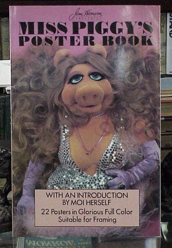 9780517615416: Miss Piggys Poster Book