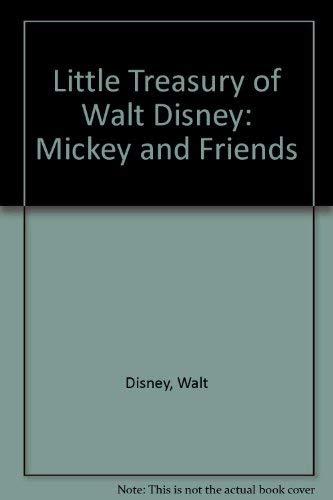 9780517616390: Little Treasuries: Little Treasury of Walt Disney Mickey & His Friends, 6 Vol. Boxed Set
