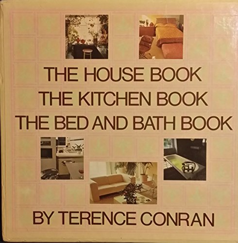 9780517619414: House Book, Kitchen Book, and Bed and Bath Book (Boxed)