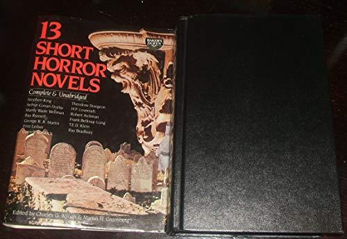 13 Short Horror Novels: Waugh, Charles G. & Martin H. Greenberg (editors)