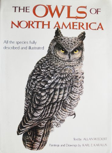 9780517632208: Owls Of North America (North of Mexico)