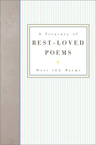 A Treasury of Best-Loved Poems (9780517637531) by Rh Value Publishing