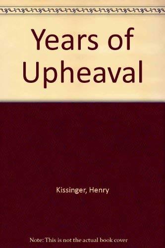 9780517639115: Years of Upheaval