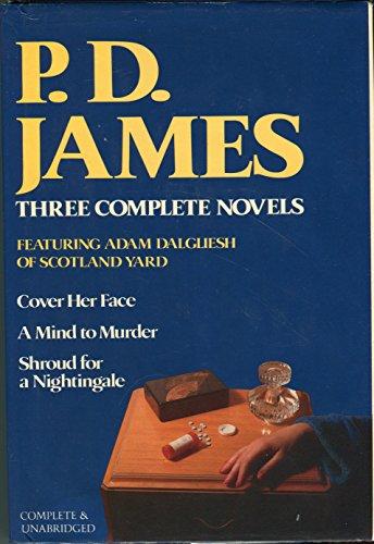 PD James: 3 Complete Novels: Cover Her: James, P. D.