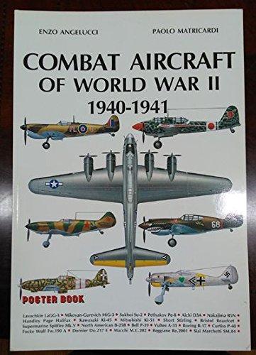 9780517641798: Combat Aircraft Of World War II, 1940-1941 (Poster Book)