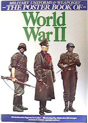 9780517644720: Military Uniforms & Weaponry-Poster Book- Of World War II