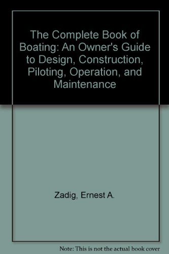 9780517649213: Complete Book of Boating: 3rd Edition