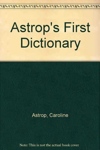 Astrops First Dictionary: Rh Value Publishing