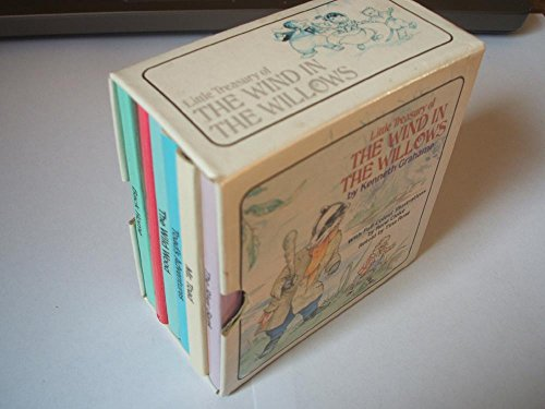 9780517653531: Little Treasury of the Wind in the Willows: 6 Volume Boxed Set