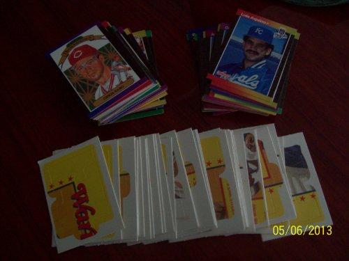 1988 Baseball Cards 120 Of T H: Donruss, Fleer, Score Topps