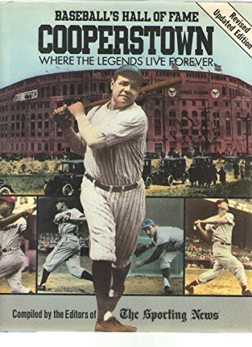 9780517669860: Cooperstown: Baseball's Hall of Fame: Where the Legends Live Forever: Revised