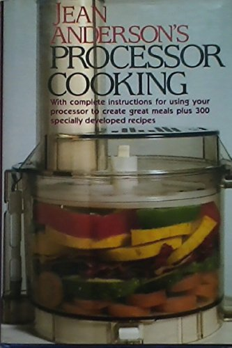 Jean Anderson's Processor Cooking (051767016X) by Anderson, Jean