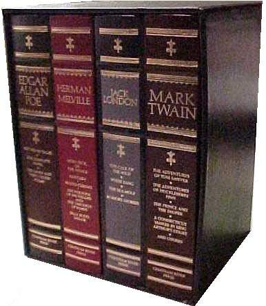 Classics of American Literature: Jack London, Herman: Mark Twain, Jack