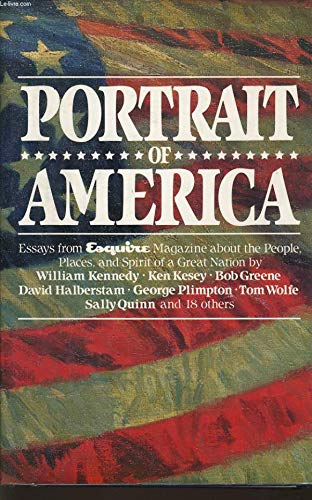 9780517681367: Portrait of America Essays from Esquire Magazine